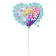 Barbie Mermaid Mini Shaped Balloon