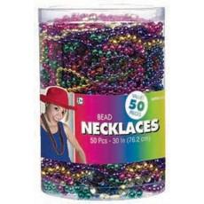 Rainbow Bead Necklace Jewellery