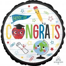 Graduation Standard HX Future Dreams Foil Balloon