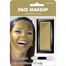 Gold Face Makeup Head Accessorie