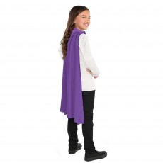 Purple Cape Costume Accessorie