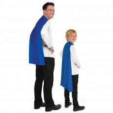 Blue Cape Costume Accessorie