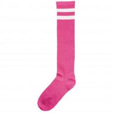 Pink Striped Knee Socks Adult Costume Adult Size