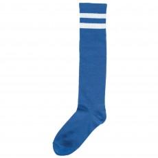 Blue Stripe Knee Socks Costume Accessorie