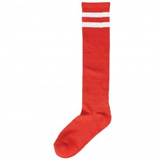 Red Striped Knee Socks Costume Accessorie