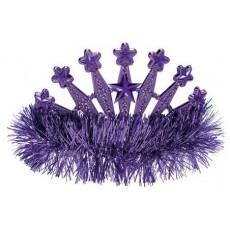 Purple Tiara 10cm x 12cm