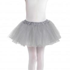 Silver Tutu Child Costume