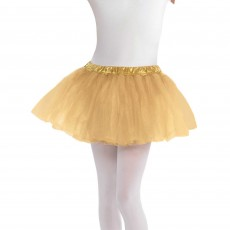 Gold Party Supplies - Child Costume Tutu