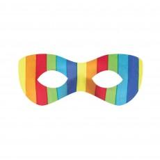 Rainbow Super Hero Mask Head Accessorie