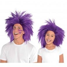 Purple Party Supplies - Crazy Wig