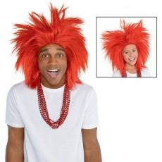 Red Crazy Wig ii Head Accessorie