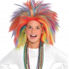 Rainbow Crazy Wig ii Head Accessorie