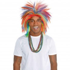 Rainbow Crazy Wig Costume Accessorie