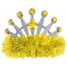 Yellow Tiara 10.1cm x 12.7cm