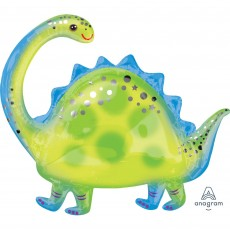 Dinosaur SuperShape XL Brontosaurus Shaped Balloon