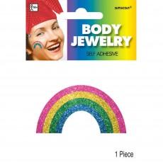 Rainbow Body Jewellery Costume Accessorie