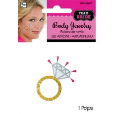 Hens Night Team Bride Body Jewelry Costume Accessorie