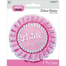 Bachelorette Party Supplies - Elegant Bride Deluxe Button