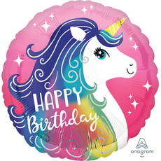 Unicorn Fantasy Unicorn Pink Standard HX Foil Balloon