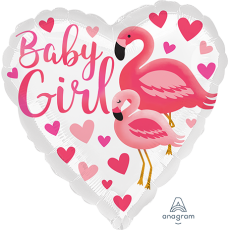 Baby Shower - General Standard HX Flamingo Shaped Balloon