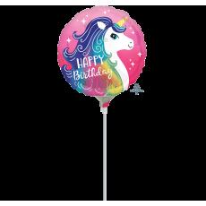 Unicorn Fantasy Party Decorations - Foil Balloon Pink Unicorn