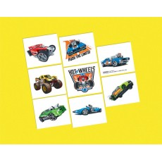 Hot Wheels Wild Racer Tattoos Favours