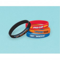 Hot Wheels Wild Racer Rubber Bracelet Favours