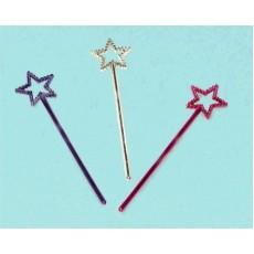 Multi Colour ed Star Wand Favours