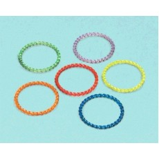 Multi Colour Jewelled Bangles Favours Pack of 18