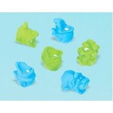 Happy Birthday Monster Eraser/Sharpener Favours Pack of 6