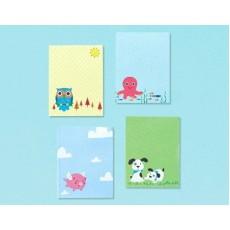 Happy Birthday Mini Memo Pad Favours Pack of 8