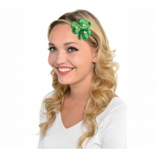 St Patrick's day Shamrock Elasticated Headband Head Accessorie