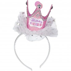 Happy Birthday Crown Headband Head Accessorie