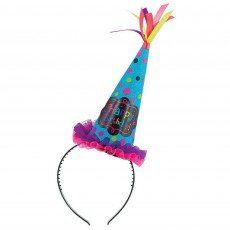 Happy Birthday Birthday Chic Cone Hat Headband Head Accessorie