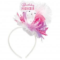 Princess Party Supplies - Fabric & Ribbon Headband