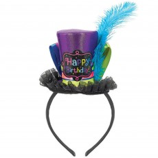 Happy Birthday Birthday Chic Fashion Hat Headband Costume Accessorie