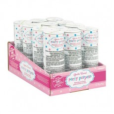 Gender Reveal Party Supplies - Confetti Poppers Girl Gender Reveal