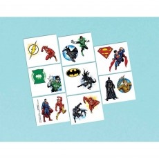 Justice League Tattoo Favours