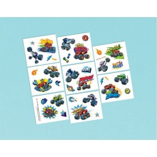 Blaze & The Monster Machines Tattoo Favours