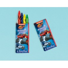 Blaze & The Monster Machines Mini Crayon Favours Pack of 12