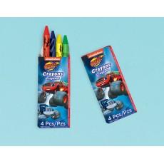 Blaze & The Monster Machines Mini Crayon Favours