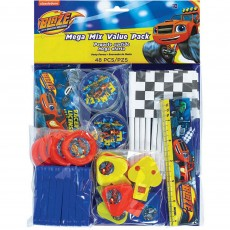 Blaze & The Monster Machines Mega Mix Favours Pack of 48