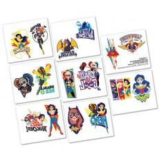 Super Hero Girls Tattoo Favours