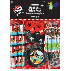 Pirate's Treasure Little Pirate Favours Pack of 48