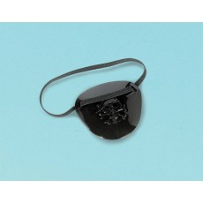 Pirate's Treasure Black Little Pirate Eye Patch Favours