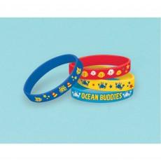 Hawaiian Ocean Buddies Rubber Bracelet Favours