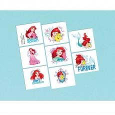 The Little Mermaid Ariel Dream Big Tattoo Favours 5cm x 4cm 8 Tattoos