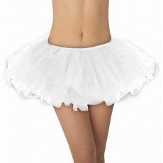 White Tutu 2 Adult Costume