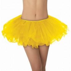 Yellow Tutu Adult Costume Adult Size
