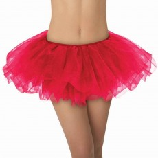Red Tutu Adult Costume